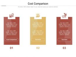 Cost Comparison Ppt Powerpoint Presentation Inspiration Grid Cpb