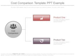 Cost Comparison Template Ppt Example