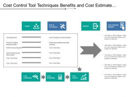 Cost Control Tool Techniques Benefits And Cost Estimate Updates
