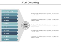 Cost Controlling Ppt Powerpoint Presentation File Background Images Cpb