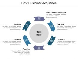 Cost Customer Acquisition Ppt Powerpoint Presentation Outline Icons Cpb