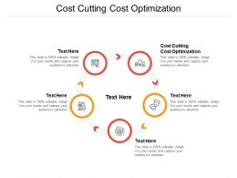 Cost Cutting Cost Optimization Ppt Powerpoint Presentation Slides Backgrounds Cpb
