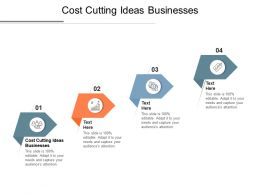 Cost Cutting Ideas Businesses Ppt Powerpoint Presentation Ideas Cpb