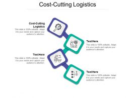 Cost Cutting Logistics Ppt Powerpoint Presentation Summary Format Cpb
