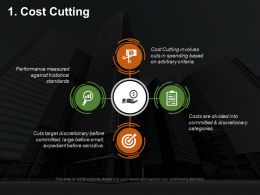 Cost Cutting Ppt Summary Designs Download