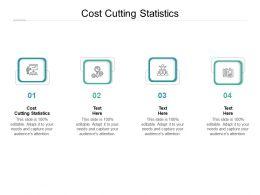 Cost Cutting Statistics Ppt Powerpoint Presentation Professional Mockup Cpb
