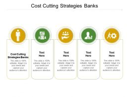 Cost Cutting Strategies Banks Ppt Powerpoint Presentation Show Model Cpb