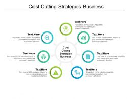 Cost Cutting Strategies Business Ppt Powerpoint Presentation Show Backgrounds Cpb
