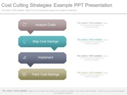 Cost Cutting Strategies Example Ppt Presentation