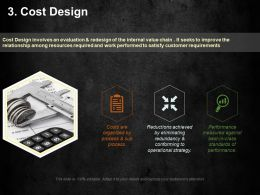 Cost Design Ppt Summary Graphics Example