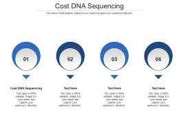 Cost DNA Sequencing Ppt Powerpoint Presentation Ideas Microsoft Cpb