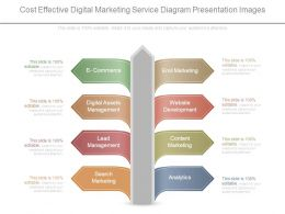 Cost Effective Digital Marketing Service Diagram Presentation Images