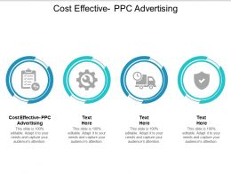 Cost Effective PPC Advertising Ppt Powerpoint Presentation Summary Grid Cpb
