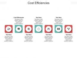 Cost Efficiencies Ppt Powerpoint Presentation Model Elements Cpb