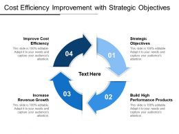 Cost Efficiency Improvement With Strategic Objectives