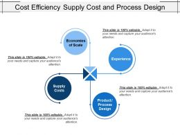 Cost Efficiency Supply Cost And Process Design