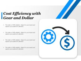 Cost Efficiency With Gear And Dollar