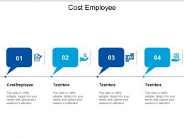 Cost Employee Ppt Powerpoint Presentation Slides Layouts Cpb