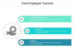 Cost Employee Turnover Ppt Powerpoint Presentation Infographic Cpb