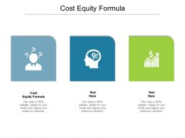 Cost Equity Formula Ppt Powerpoint Presentation Slides Visual Aids Cpb