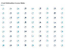 Cost Estimation Icons Slide L999 Ppt Powerpoint Presentation Model