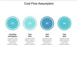 Cost Flow Assumption Ppt Powerpoint Presentation Gallery Images Cpb