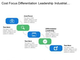 Cost Focus Differentiation Leadership Industrial Market Risk Choices