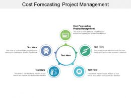 Cost Forecasting Project Management Ppt Powerpoint Presentation Visual Aids Styles Cpb