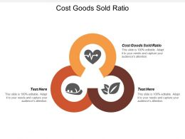 Cost Goods Sold Ratio Ppt Powerpoint Presentation File Influencers Cpb