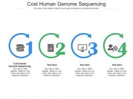 Cost Human Genome Sequencing Ppt Powerpoint Presentation Outline Designs Cpb