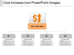 Cost Increase Icon Powerpoint Images