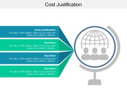 Cost Justification Ppt Powerpoint Presentation Ideas Slides Cpb
