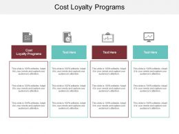 Cost Loyalty Programs Ppt Powerpoint Presentation Summary Layout Ideas Cpb