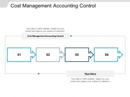 Cost Management Accounting Control Ppt Powerpoint Presentation Icon Aids Cpb