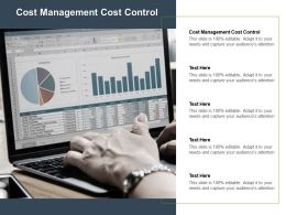 Cost Management Cost Control Ppt Powerpoint Presentation Icon Designs Cpb