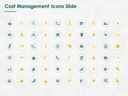 Cost Management Icons Slide Financial L757 Ppt Powerpoint File Slide
