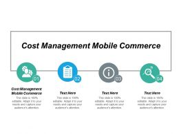 Cost Management Mobile Commerce Ppt Powerpoint Presentation Slides Outfit Cpb