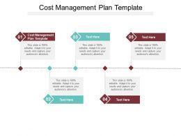 Cost Management Plan Template Ppt Powerpoint Presentation File Templates Cpb