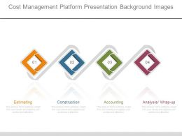 Cost Management Platform Presentation Background Images