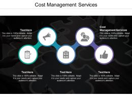 Cost Management Services Ppt Powerpoint Presentation Pictures Slides Cpb