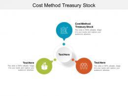 Cost Method Treasury Stock Ppt Powerpoint Presentation Visual Aids Slides Cpb