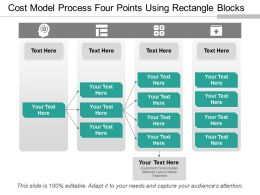 Cost Model Process Four Points Using Rectangle Blocks