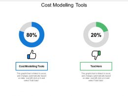 Cost Modelling Tools Ppt Powerpoint Presentation File Design Inspiration Cpb