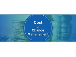 Cost Of Change Management Powerpoint Topics