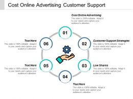 Cost Online Advertising Customer Support Strategies Low Shares Cpb