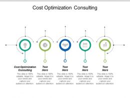 Cost Optimization Consulting Ppt Powerpoint Presentation File Graphics Pictures Cpb