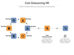 Cost Outsourcing HR Ppt Powerpoint Presentation Slides Cpb