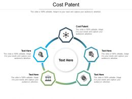 Cost Patent Ppt Powerpoint Presentation Gallery Graphic Tips Cpb