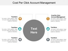 Cost Per Click Account Management Ppt Powerpoint Presentation Styles Influencers Cpb