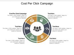 Cost Per Click Campaign Ppt Powerpoint Presentation Model Format Cpb